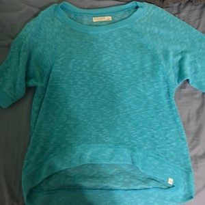 Gilly Hicks high low sweater shirt